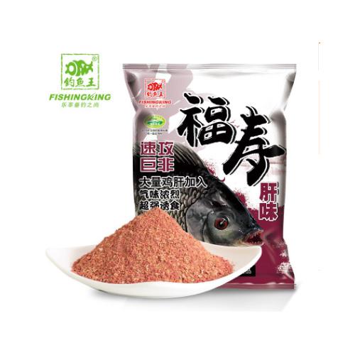 钓鱼王 福寿 浓腥 肝味 120g鱼饵