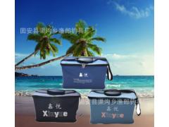 厂家直销帆布桶钓鱼桶活鱼桶水箱可折叠水桶软桶钓鱼用品垂钓配件