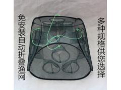 新款可折叠渔网折叠虾笼虾网捕鱼笼鱼网搬网笼捕虾泥鳅黄鳝笼