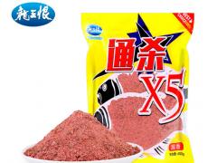 龙王恨 通杀X5鱼饵 野钓打窝饵料鱼饵鱼食400g 40包/箱