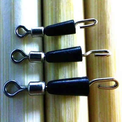 8字环 快速子线夹 连接器八字环 钓鱼子线别针 垂钓小配件批发