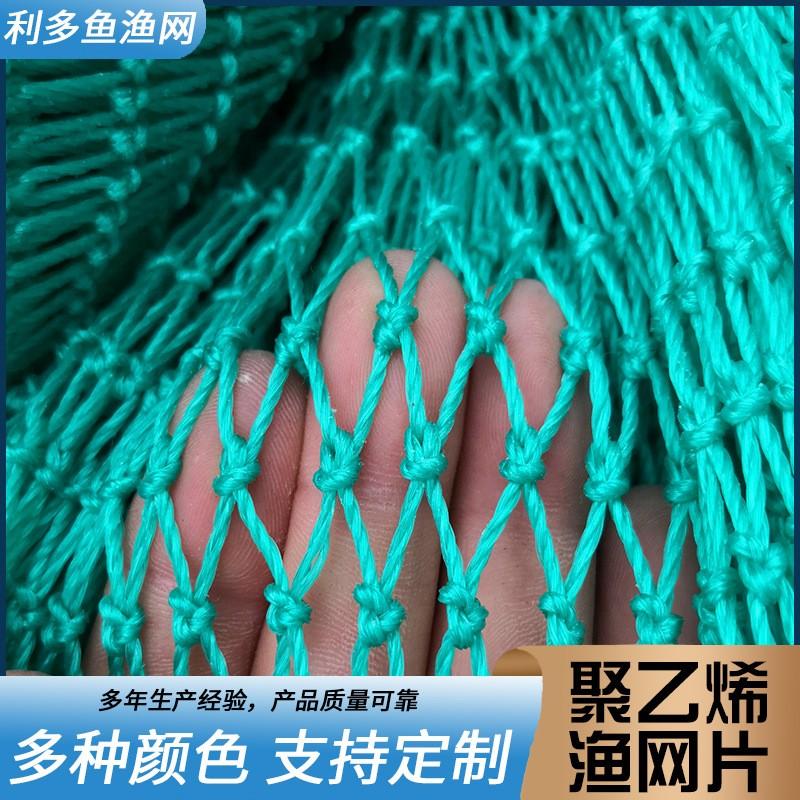 量大 聚乙烯抬网渔网片 新型网箱用网 虾笼 育苗网 龙虾网