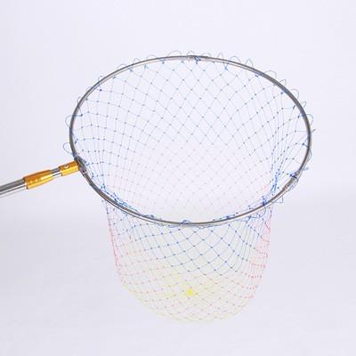 渔具垂钓用品40厘米不锈钢抄渔网 捕鱼网兜 钓鱼抄网鱼网兜抄网头
