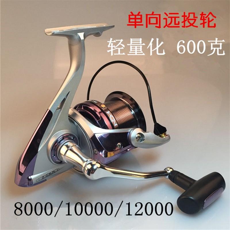 渔千寻工厂批发8000-12000渔轮金属远投轮 抛杆海钓轮锚鱼纺车轮