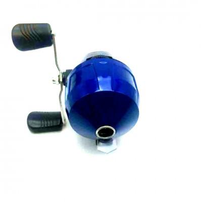 弹弓射鱼套装封闭渔轮纺车轮傻瓜渔轮s10渔轮子弹镖不锈钢鱼镖