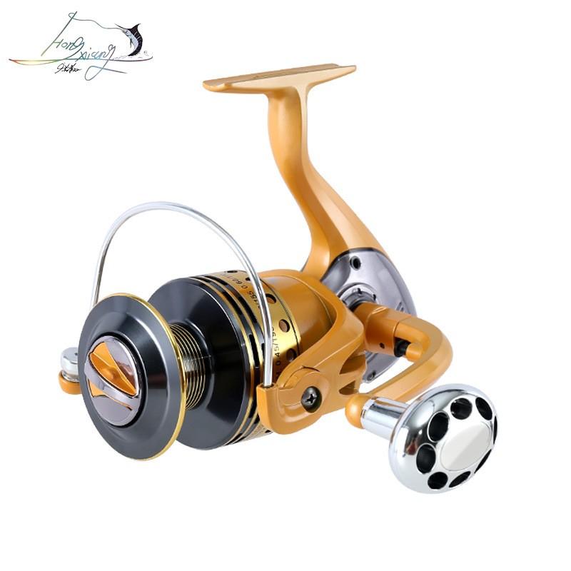 洪翔全金属线杯渔轮鱼线轮纺车轮海竿钓鱼竿轮鱼竿垂钓渔具