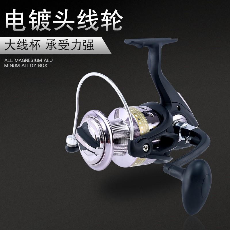 洪翔HK渔轮鱼线轮纺车轮海竿轮鱼竿轮垂钓渔具